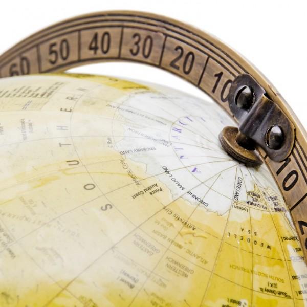 podziałka globusa
