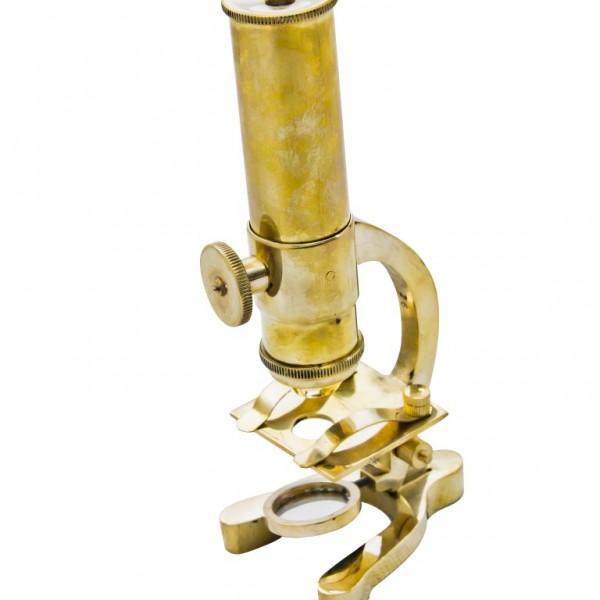 mikroskop stylizowany na antyk