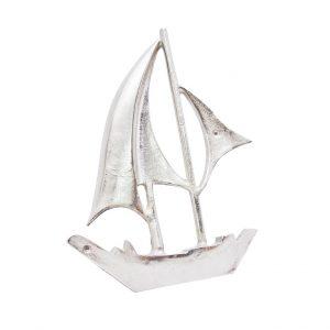 model jachtu na ściane