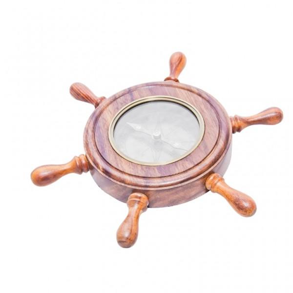 kompas w kole sterowym