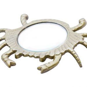 Metalowe szkło powiększające krab
