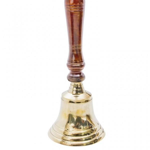 dzwonek na rączce z palisandru