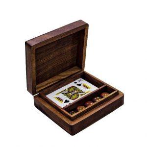 pudełko na karty i kości