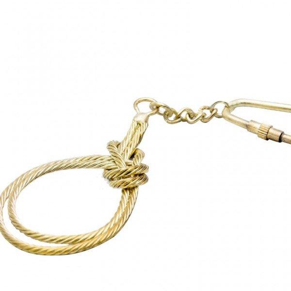 Breloczek - podwójny węzeł