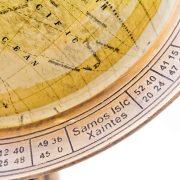 Globus z mosiężną obręczą 2