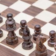 szachy z palisandru na prezent