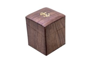 pudełko z kotwicą