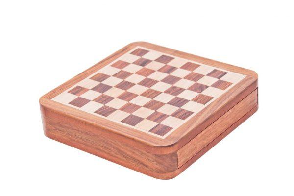 drewniana planasz do gry - pudełko