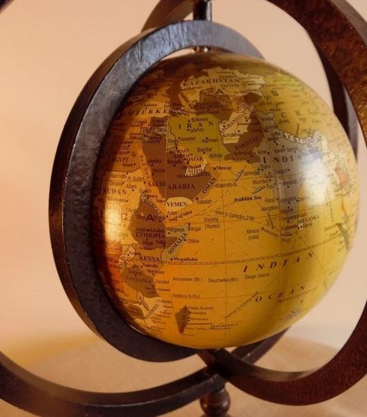 metalowe tarcze globusa