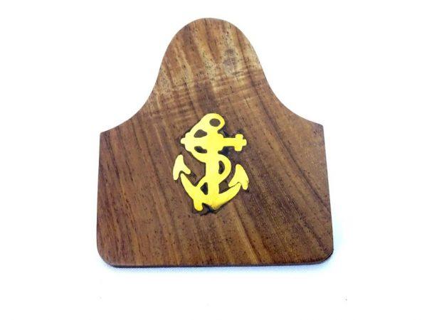 Klips drewniany