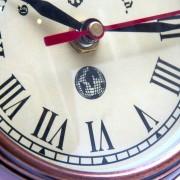 Tarcza - aluminiowy zegar