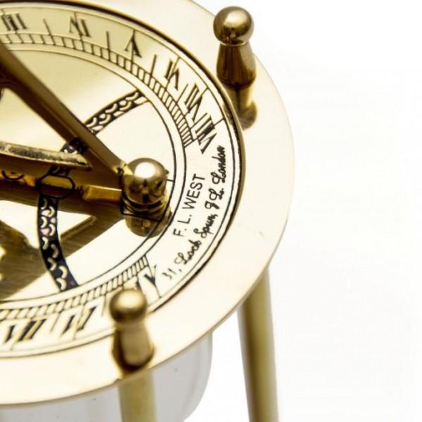 Top klepsydry zegar słoneczny