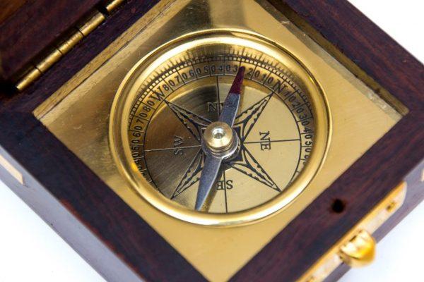 piękna tarcza kompasu