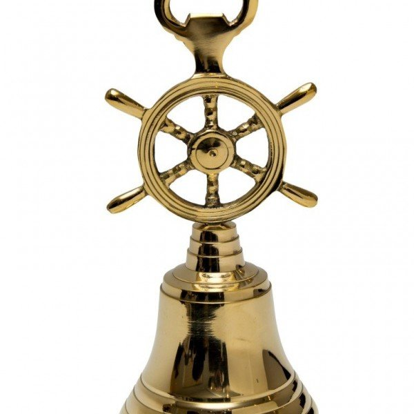 dzwonek z kołem sterowy i otwieraczem