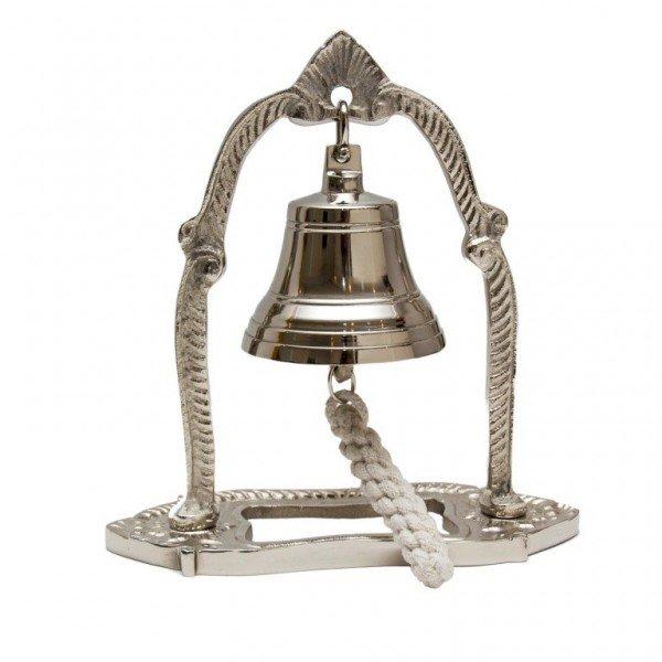 wiszący aluminiowy dzwonek