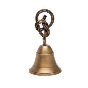 dzwonek z rączką w kształcie węzła podwójnego