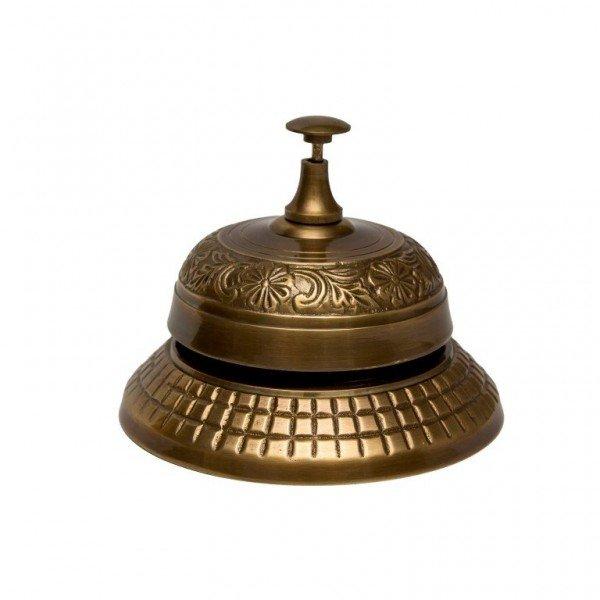 Dzwonek hotelowy z mosiądzu