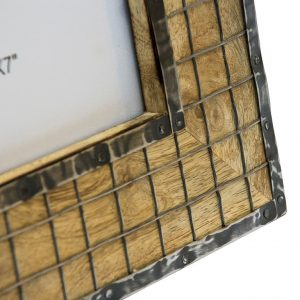 metalowa krata ozdoba ramki 13x18 cm