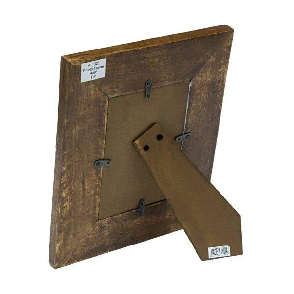 nóżka ciemnej ramki z siatką -10x15cm