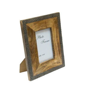Ozdobna drewniana ramka na zdjęcie