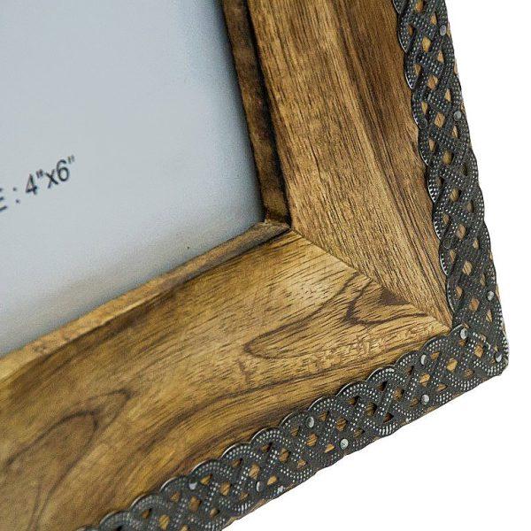 Metalowe ozdoby ramki 10x15 cm