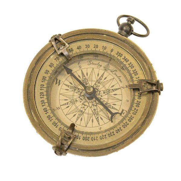 kompas wykończenie antyk mały