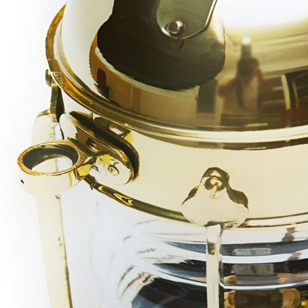 kuleczko lampy naftowej mosiężnej