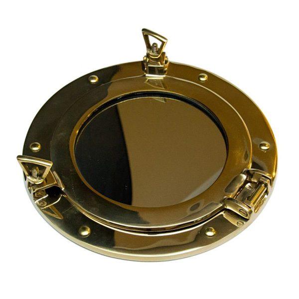 lustro w oprawie w kształcie bulaja