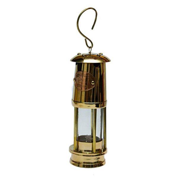mosiężna lampa żeglarska