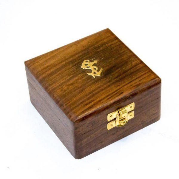 pudełko z motywem kotwicy
