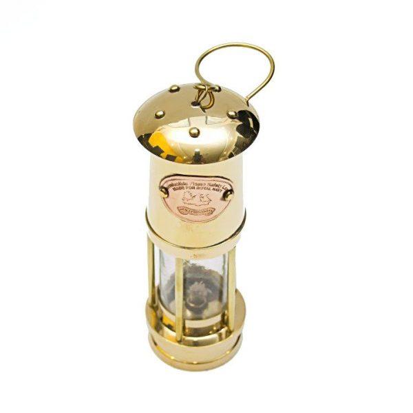 Żeglarska lampa mosiężna