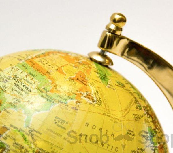 globus złote wykończenie