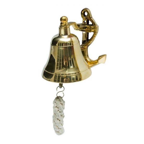 dzwon okrętowy mały z kotwicą