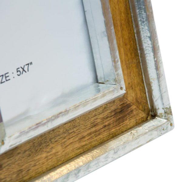 listwy drewniane koloru srebrnego 13x18