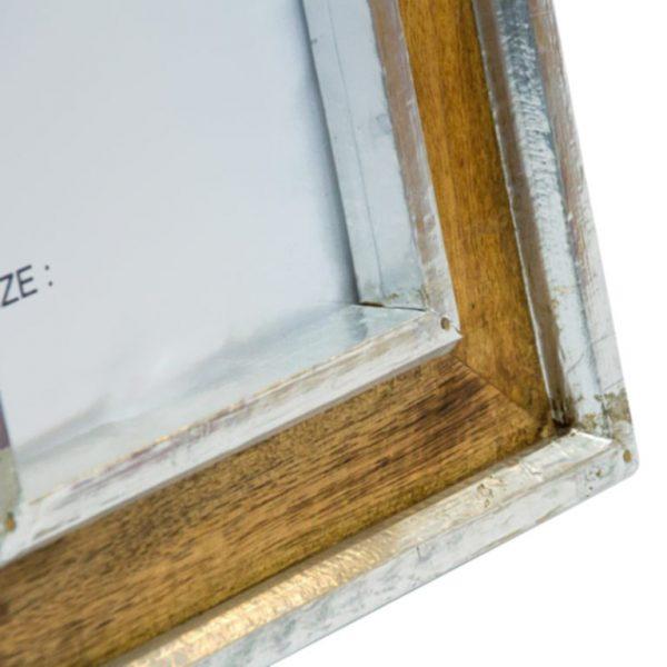 listwy drewniane koloru srebrnego