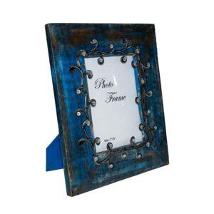 ramka na zdjęcia niebieska 13x18 cm