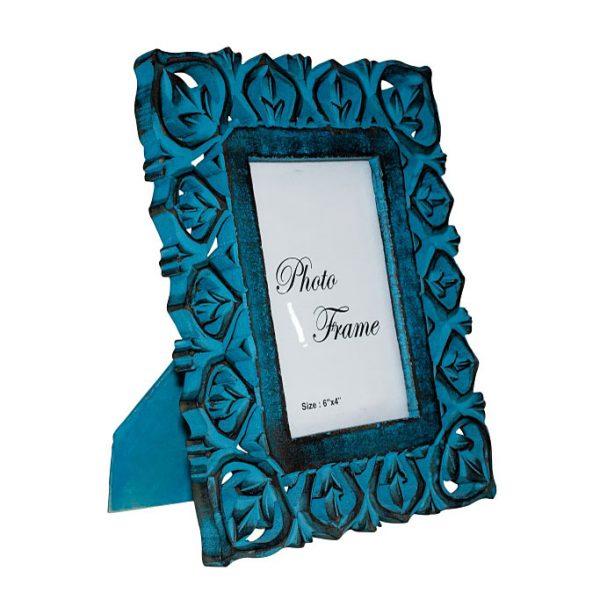 Ramka na fotografię orient blue - 10x15 cm