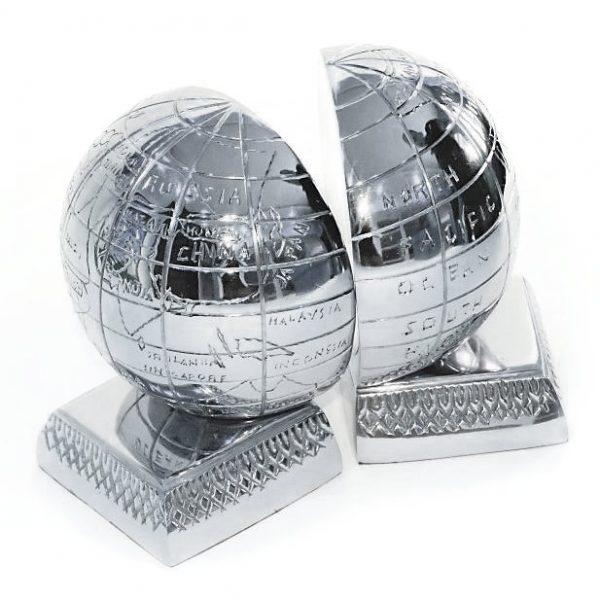 globus - bookend - podpórka pod książki
