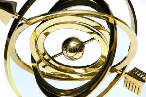 astrolabium strzałkowe - dekoracja