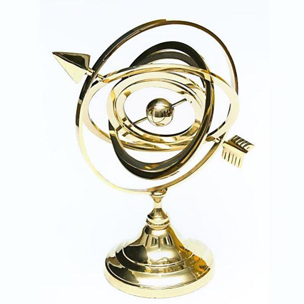 astrolabium mosiężne - dekoracja lub prezent