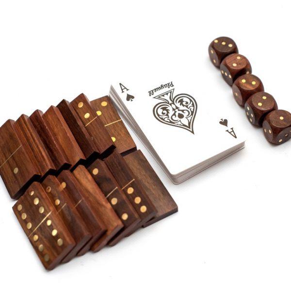domino karty kości