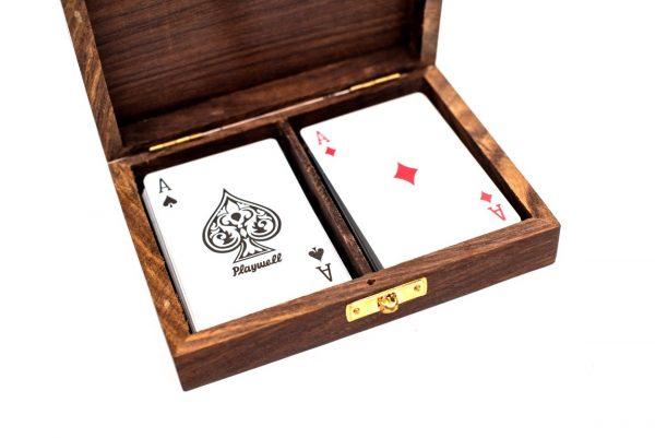 dwie talie kart