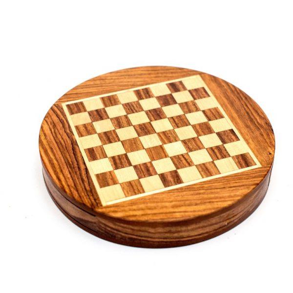 okrągła plansza do gry w szachy