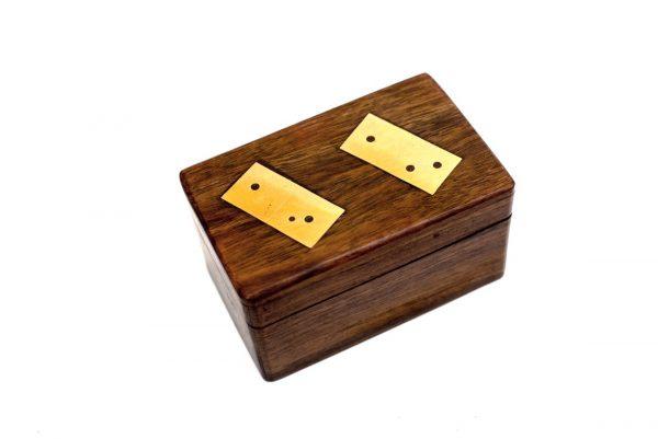 ozdoba pudełka domino