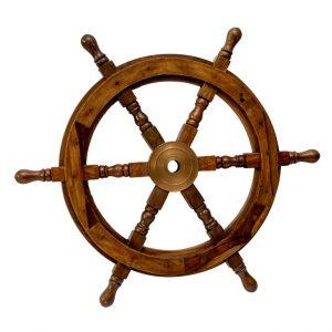 Dekoracyjne koło drewniane 30 cali