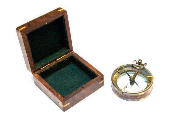 Kompas Spencer w pudełku z palisandru