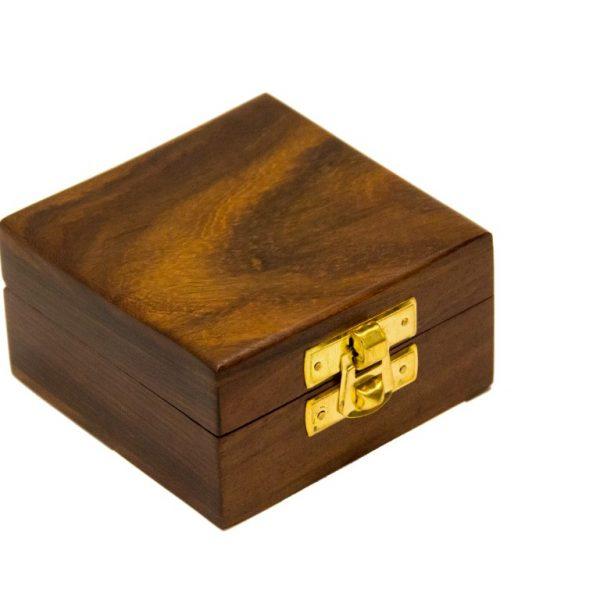 Pudełko drewniane 8x8x5cm