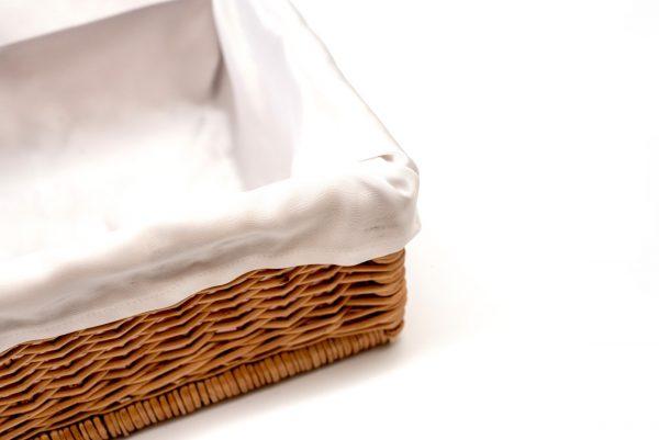 Pudełko wiklinowe - detal