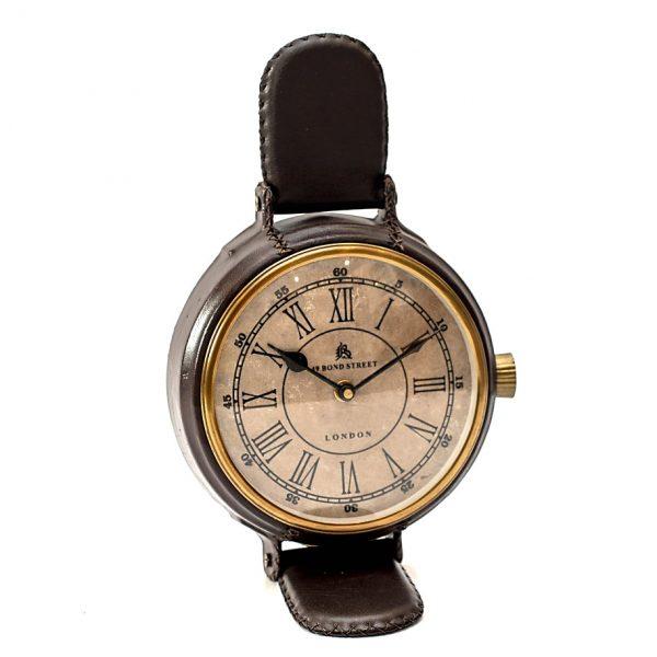 zegar stojący imitujący zegar na rękę