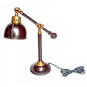 lampa biurowa skórzana